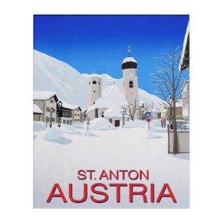 St. Anton Austria Acrylic Wall Art
