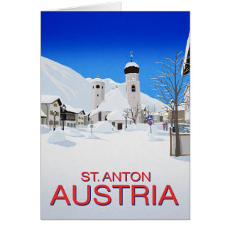St. Anton Austria Card