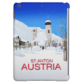 St. Anton Austria Case For iPad Air