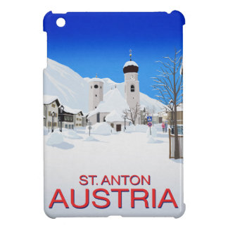 St. Anton Austria Cover For The iPad Mini