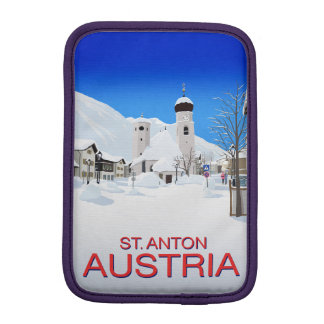 St. Anton Austria iPad Mini Sleeve
