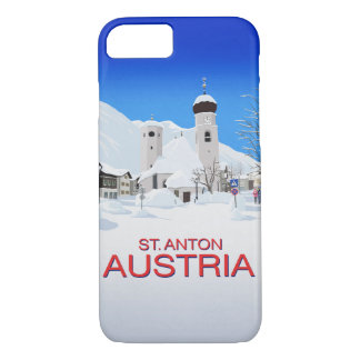 St. Anton Austria iPhone 8/7 Case