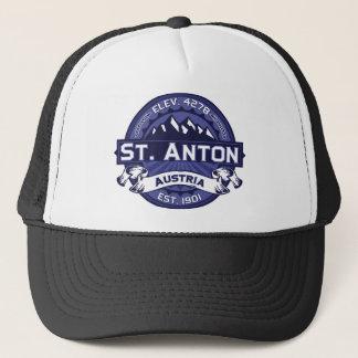 St. Anton Logo Midnight Trucker Hat