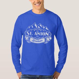 St. Anton Mountain Emblem White T-Shirt