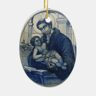 St Antony Oval Ornament
