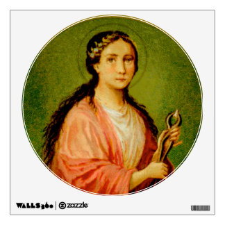 "St. Apollonia (BLA 001) 12""x12"" Wall Sticker"