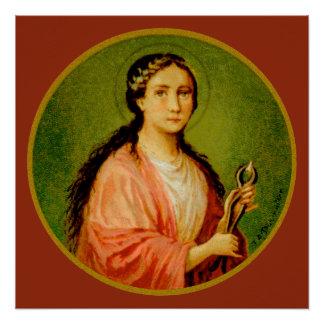 """St. Apollonia (BLA 001) 20""""x20"""" Poster #2"""