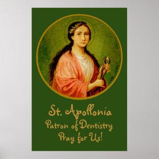"""St. Apollonia (BLA 001) 24""""x36"""" Poster #1"""