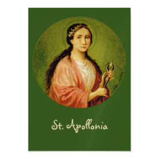 "St. Apollonia (BLA 001) 5""x7"" Magnetic Card"