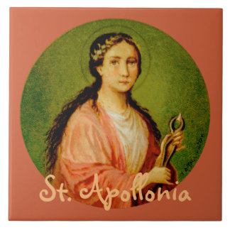 St. Apollonia (BLA 001) Ceramic Tile #1