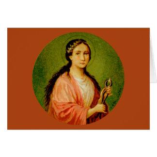 St. Apollonia (BLA 001) Greeting Card #1