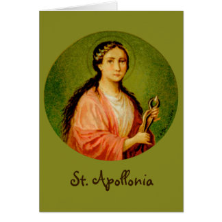 St. Apollonia (BLA 001) Greeting Card #2