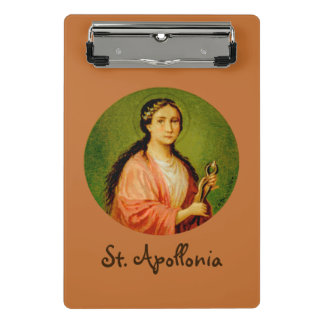 St. Apollonia (BLA 001) Mini Clipboard