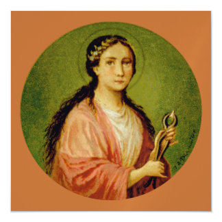 St. Apollonia (BLA 001) Square Magnetic Card