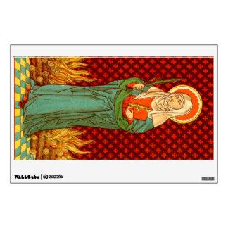 "St. Apollonia (VVP 001) 12""x18"" Wall Sticker"