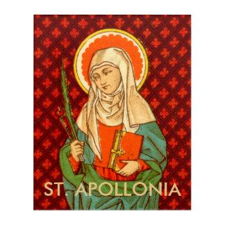 "St. Apollonia (VVP 001) 16""x20"" Acrylic Print"