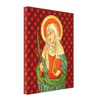 "St. Apollonia (VVP 001) 16""x20""x1.5"" Canvas Print"