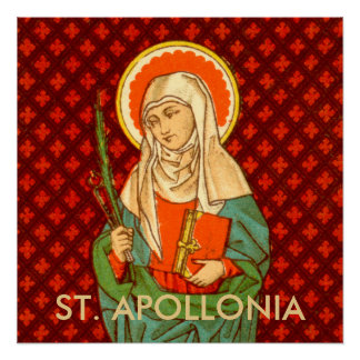 "St. Apollonia (VVP 001) 20""x20"" Poster #1"