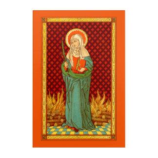 "St. Apollonia (VVP 001) 20""x30"" Acrylic Print"
