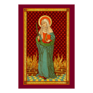 "St. Apollonia (VVP 001) 24""x36"" Poster #2"