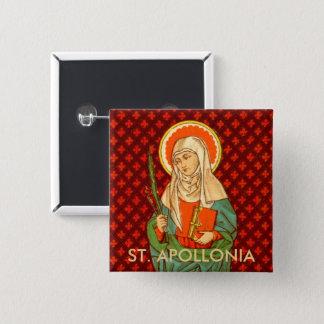 St. Apollonia (VVP 001) 2 Inch Square Button