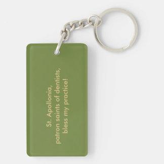 St. Apollonia (VVP 001) Blank/DIY Back Keychain