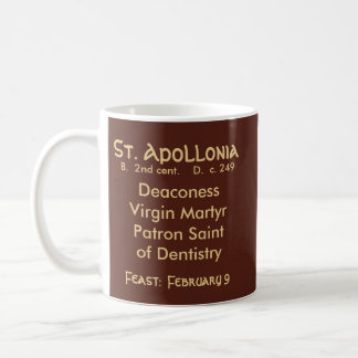St. Apollonia (VVP 001) Coffee Mug #1.1b
