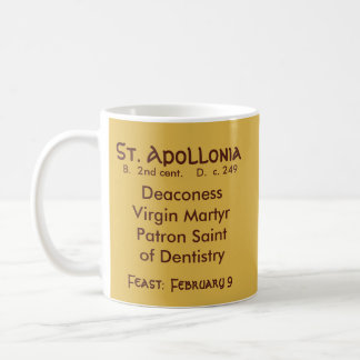 St. Apollonia (VVP 001) Coffee Mug #2.1b