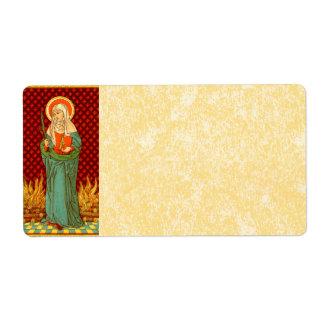 St. Apollonia (VVP 001) Parchment