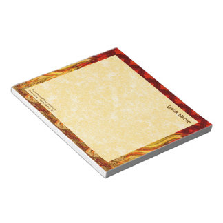 "St. Apollonia's Flames (VVP 001a) 6""x5.5"" Horizon Notepad"