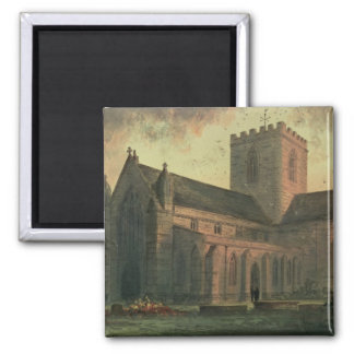 St Asaph s Cathedral View from the South-West Refrigerator Magnet