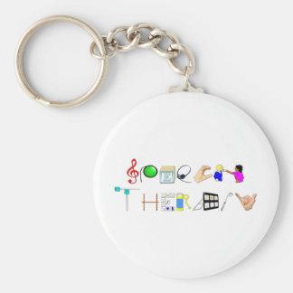 ST at Work Keychain