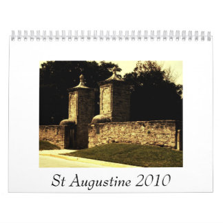 St Augustine 2010 Wall Calendar