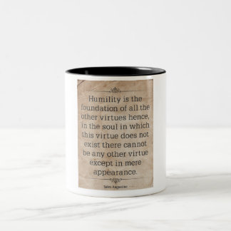 St. Augustine #3 Two-Tone Coffee Mug