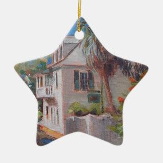 St. Augustine Aviles Street Florida Ceramic Ornament