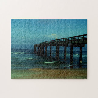 St Augustine Fishing Pier Photo Jigsaw Puzzle