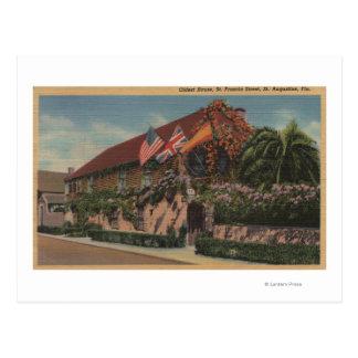 St. Augustine, FL - View of St. Francis Postcard
