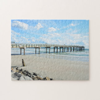 St. Augustine, Florida Fishing Pier Jigsaw Puzzle