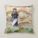 St Augustine Florida Lighthouse lighthouses pillow