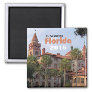 St. Augustine Florida Travel Magnet Change Year
