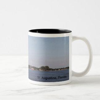 St. Augustine, Florida Two-Tone Coffee Mug