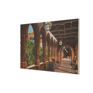 St. Augustine, Florida - View of Hotel Ponce de Canvas Print
