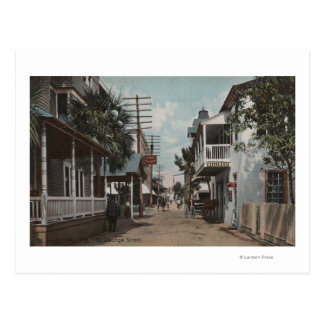 St. Augustine, Florida - View of St. George St. Postcard