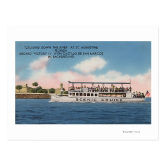 St. Augustine, Florida - View of Victory Postcard