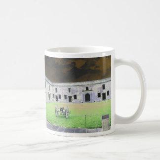 St  Augustine Fort I solarized Coffee Mug