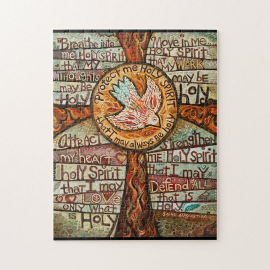St. Augustine Holy Spirit Prayer puzzle