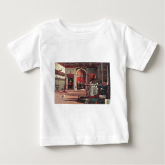 St. Augustine in His Study - Vittore Carpaccio Baby T-Shirt