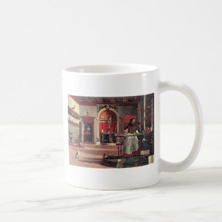 St. Augustine in His Study - Vittore Carpaccio Coffee Mug