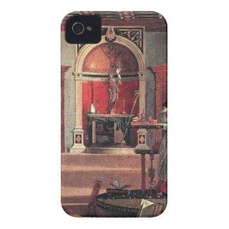 St. Augustine in His Study - Vittore Carpaccio iPhone 4 Cover