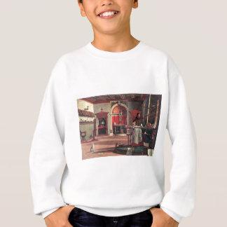 St. Augustine in His Study - Vittore Carpaccio Sweatshirt